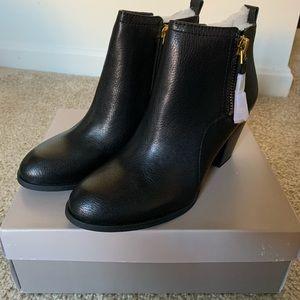 Franco Sarto women's black booties